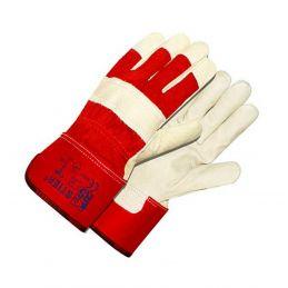 Rękawice ochronne STIER wzmacniane skórą
