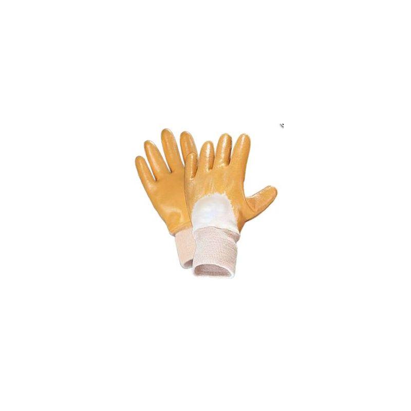 Rękawice ochronne nitrylowe żółte 440Y