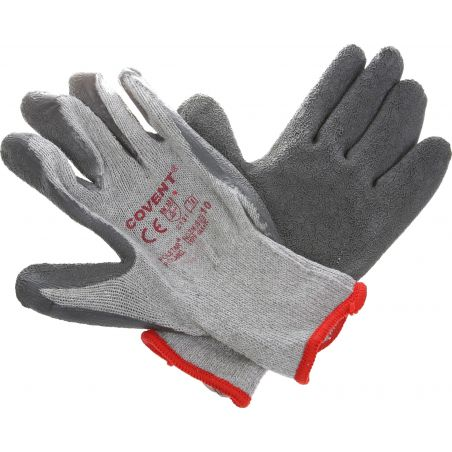 Rękawice ochronne powlekane lateksem COVENT RCCO