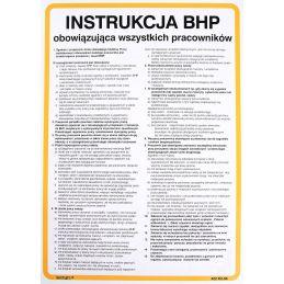 Instrukcja BHP obowiązująca wszystkich pracowników