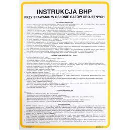 Instrukcja BHP przy spawaniu w osłonie gazów obojętnych