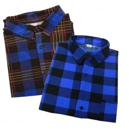 Koszula flanelowa w kratę