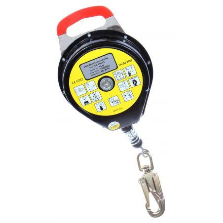 Urządzenie samohamowne CR 210 z zatrzaśnikiem AZ 002ASI
