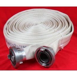 Wąż pożarniczy tłoczony 20 m wkładką gumową DUNLOP