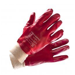 Rękawice ochronne powlekane PCV POLYRED