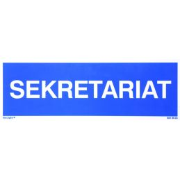 Tablica informacyjna : sekretariat