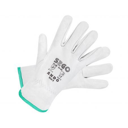 Rękawice ochronne całoskórzane ANDO