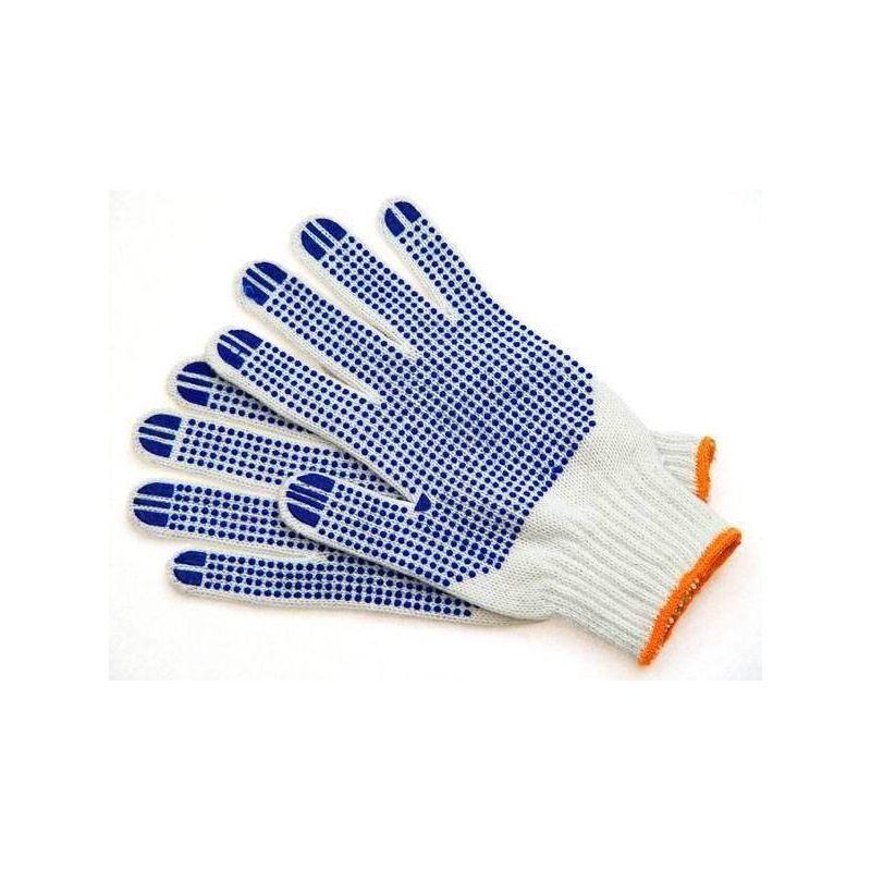 Rękawice ochronne nakrapiane na dzianinie RDZN600